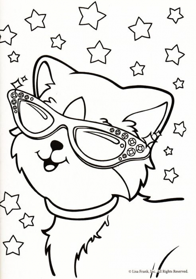 Lisa Frank Coloring Pages Printable   96731