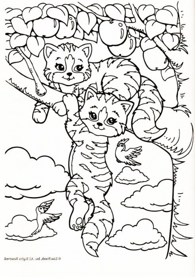 Lisa Frank Coloring Pages Printable   97841
