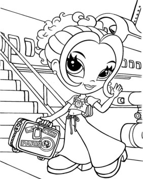 Lisa Frank Coloring Pages to Print for Free 09512
