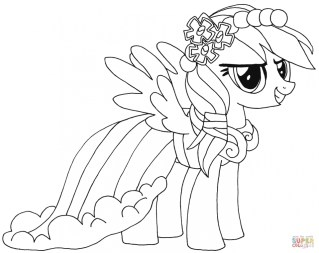 My Little Pony Girls Printable Coloring Pages 50810