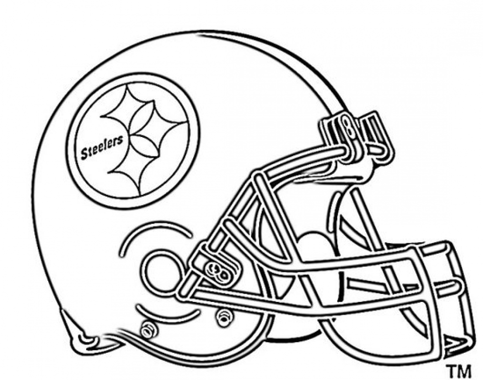 Get This NFL Football Helmet Coloring Pages Free to Print ...