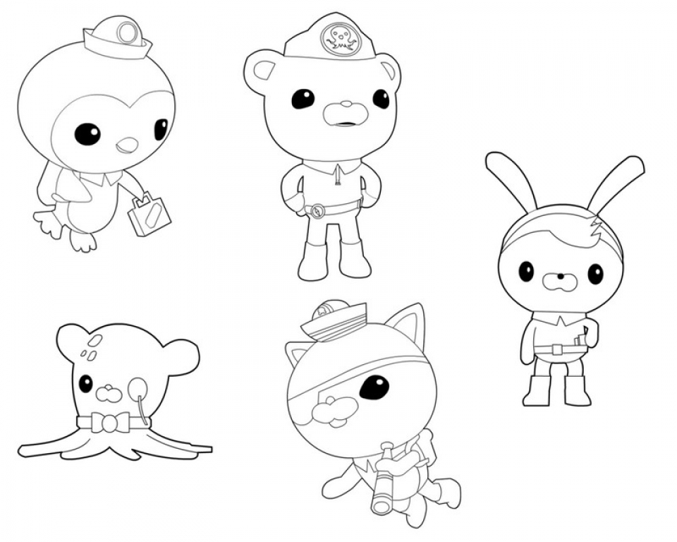 - Get This Octonauts Coloring Pages Free 07725 !