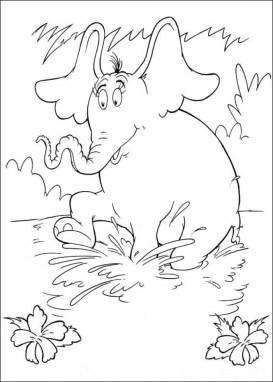 Online Dr Seuss Coloring Pages 55801