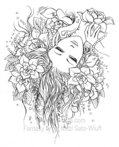 Online Fairy Coloring Pages 32608
