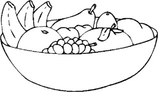 Online Fruit Coloring Pages 43146