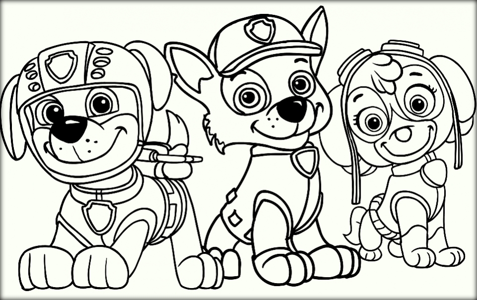 Paw Patrol Coloring Pages for Kids   73590