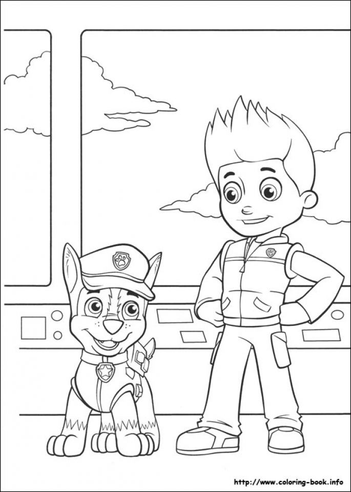 Paw Patrol Coloring Pages Free to Print   316740