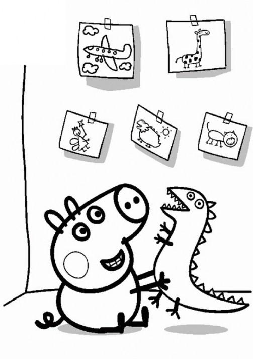 Peppa Pig Coloring Pages Free Printable 36313
