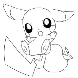 Pokemon Coloring Page Free Printable 44959