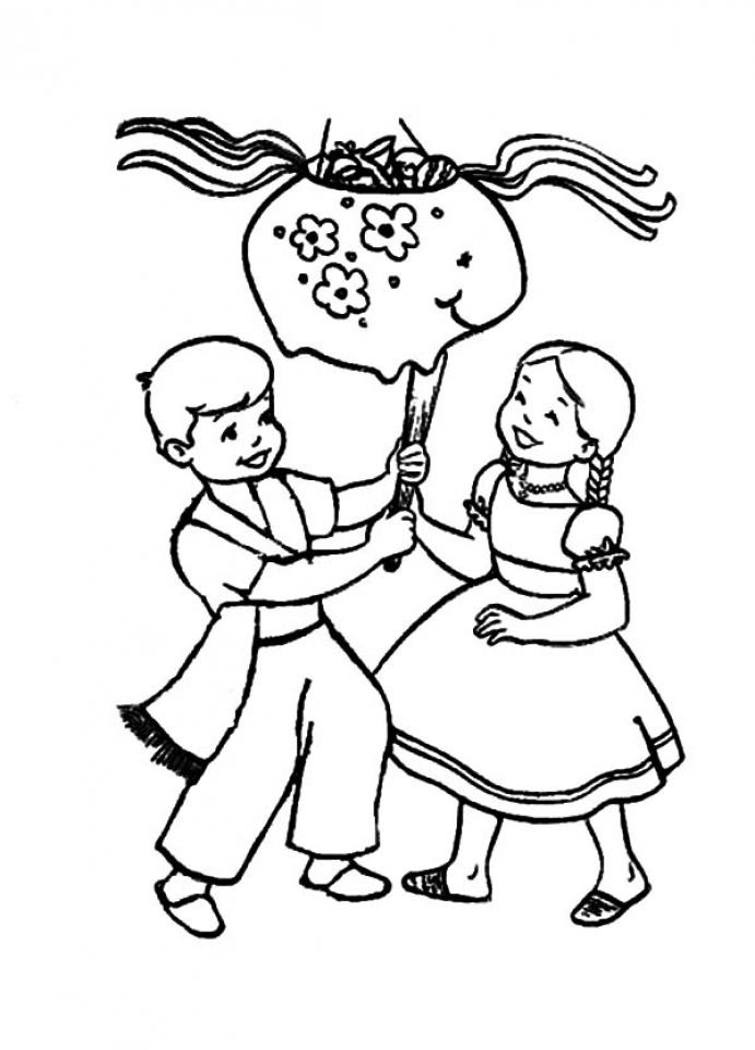 Preschool Printables of Cinco de Mayo Coloring Pages Free   77105
