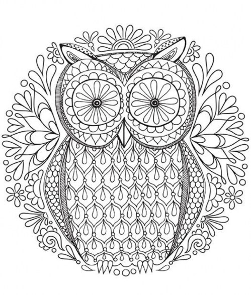 Printable Abstract Coloring Pages Online 25187