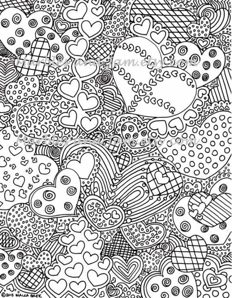 Printable Abstract Coloring Pages Online   36271