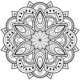 Printable Abstract Coloring Pages Online 89452