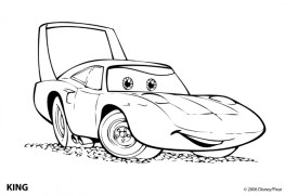 Printable Cars Coloring Pages Online 67356