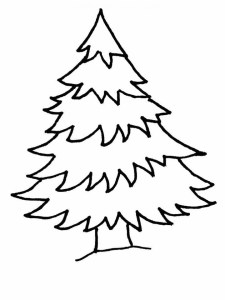 get this printable christmas tree coloring pages 4419