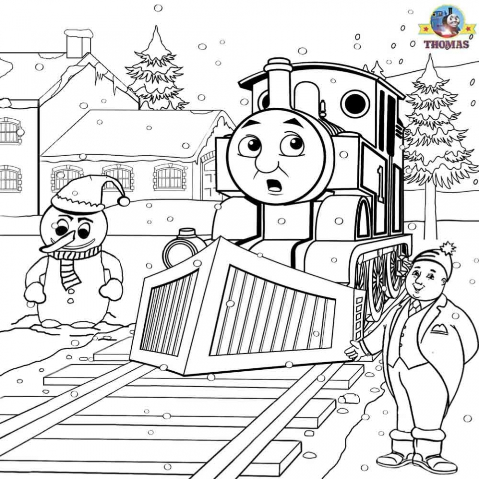 Get This Printable Coloring Pages Of Thomas The Train 317259 !