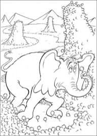 Printable Dr Seuss Coloring Pages Online 36052