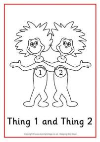 Printable Dr Seuss Coloring Pages Online 80651