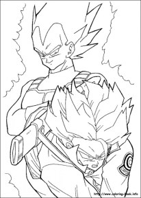 Printable Dragon Ball Z Coloring Pages 85567