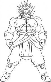 Printable Dragon Ball Z Coloring Pages Online 36051