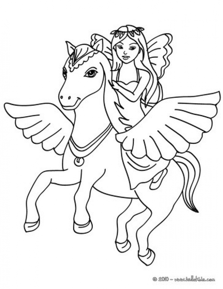 Fairy (Characters) – Printable coloring pages | 960x741