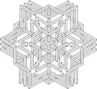 Printable Geometric Coloring Pages 14691