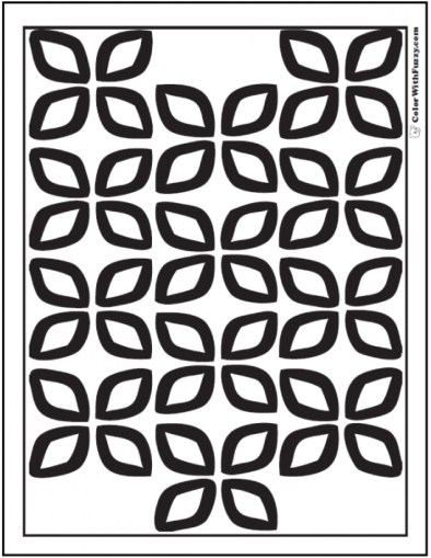 Printable Geometric Coloring Pages Online 86935