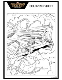 Printable Guardians of the Galaxy Coloring Pages Online 04629