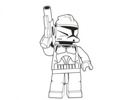 Printable Lego Star Wars Coloring Pages Online 30012
