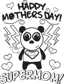 Printable Mothers Day Coloring Pages for Preschoolers 29618
