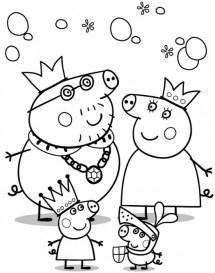 Printable Peppa Pig Coloring Pages 14692