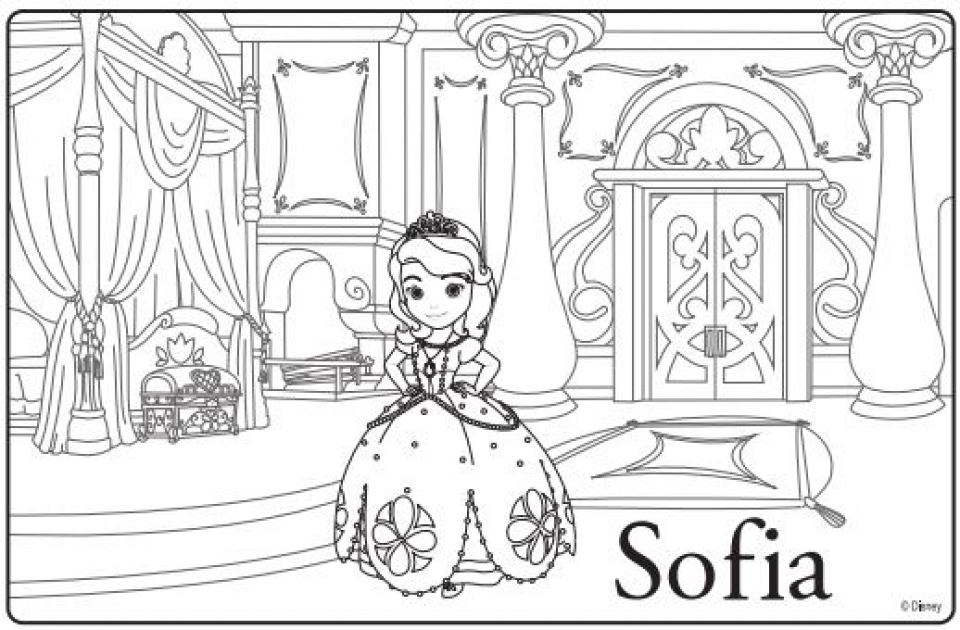- 20+ Free Printable Sofia The First Coloring Pages - EverFreeColoring.com