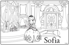 Printable Sofia the First Coloring Pages 19255