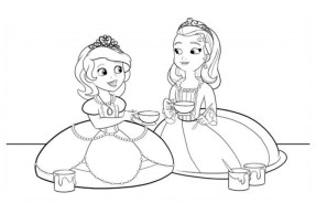 Printable Sofia the First Coloring Pages Online 49157