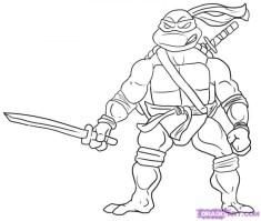 Printable Teenage Mutant Ninja Turtles Coloring Pages 55649