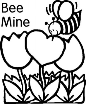 Printable Valentines Coloring Pages 34096