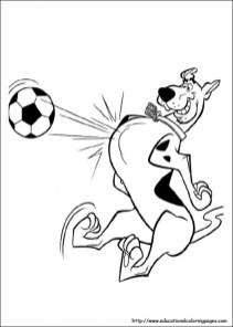 Scooby Doo Coloring Pages Free Printable 86955