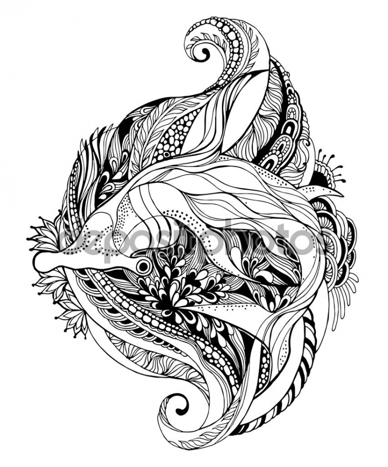Get This Shark Coloring Pages for Adults 65310
