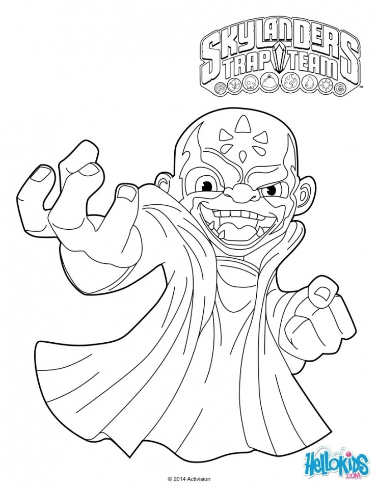 get this skylander coloring pages for boys and girls 663