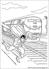 Superman Coloring Pages Free Printable 98393