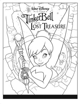 Tinker Bell Online Coloring Pages for Girls 09467