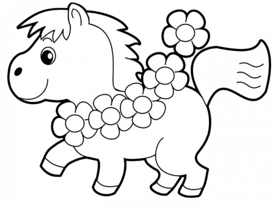 20+ Free Printable Toddler Coloring Pages - EverFreeColoring.com