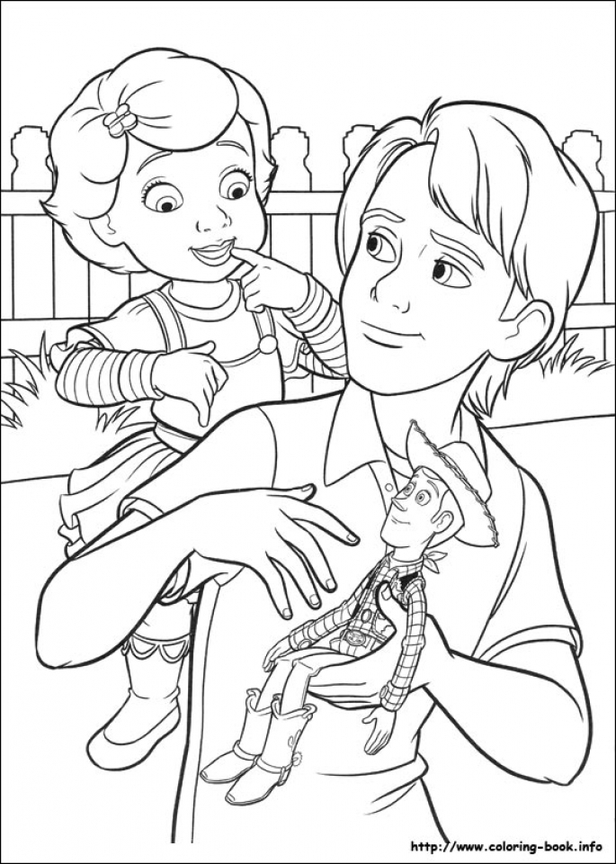 Toy Story Coloring Pages Free   52748