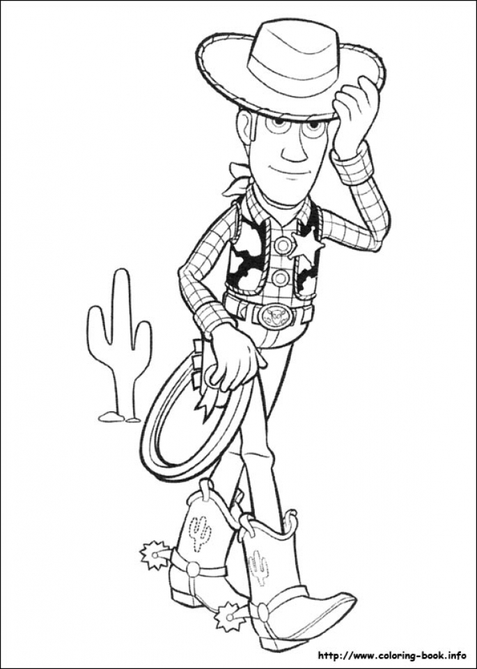 Toy Story Coloring Pages Free   96794