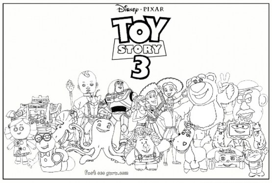 Toy Story Coloring Pages Online 62768