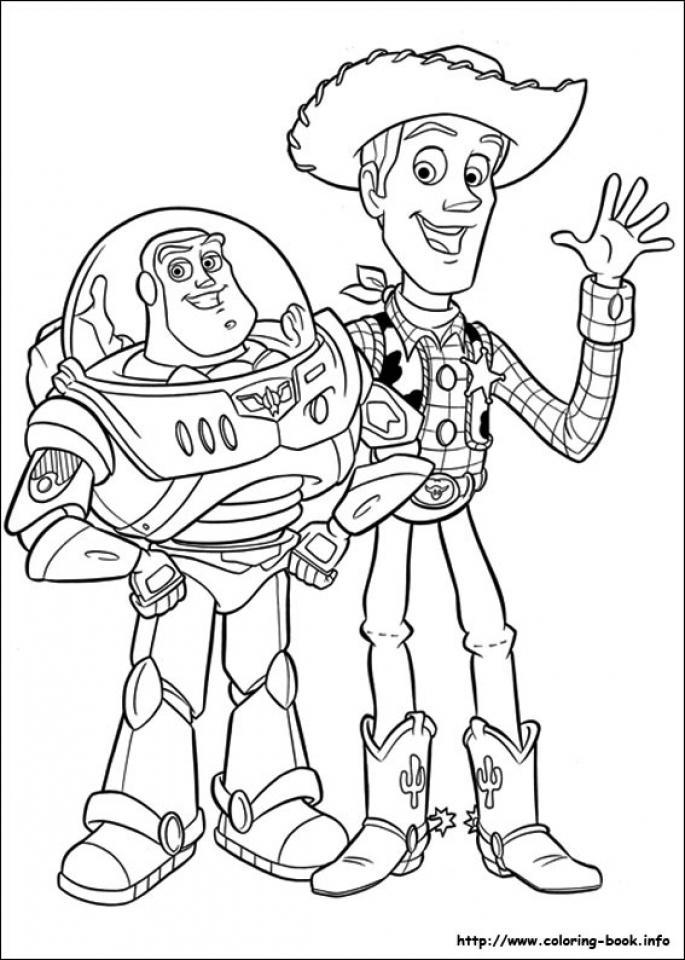 Toy Story Coloring Pages Printable   21648