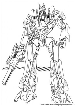 Transformers Coloring Pages for Boys 61534