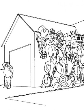 Transformers Coloring Pages Free Printable 38571