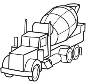 Truck Coloring Pages Kids Printable 69793