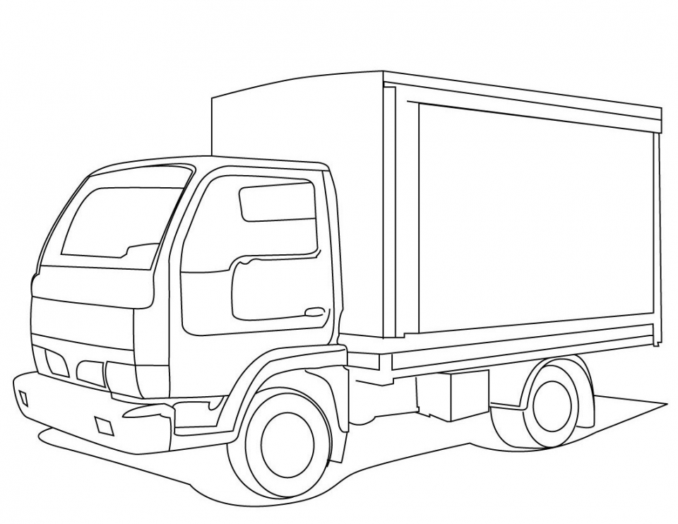 Truck Coloring Pages to Print   42886